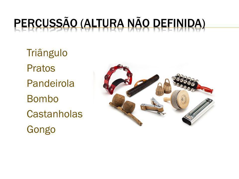 PERCUSSÃO (altura não definida)