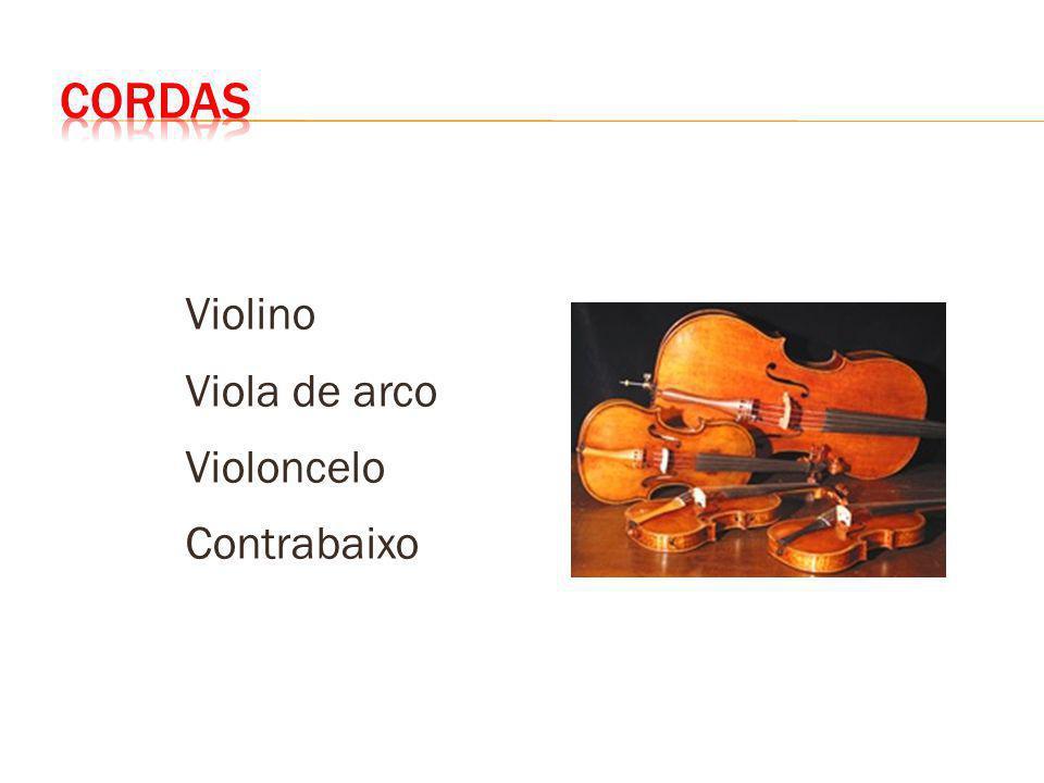 CORDAS Violino Viola de arco Violoncelo Contrabaixo