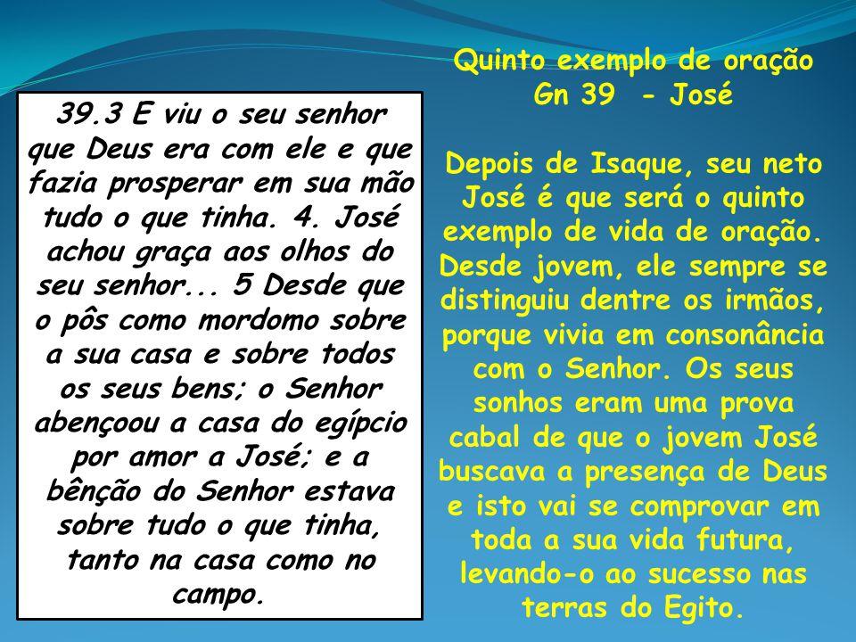 Quinto exemplo de oração