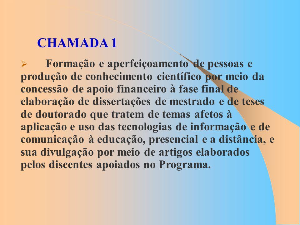 CHAMADA 1