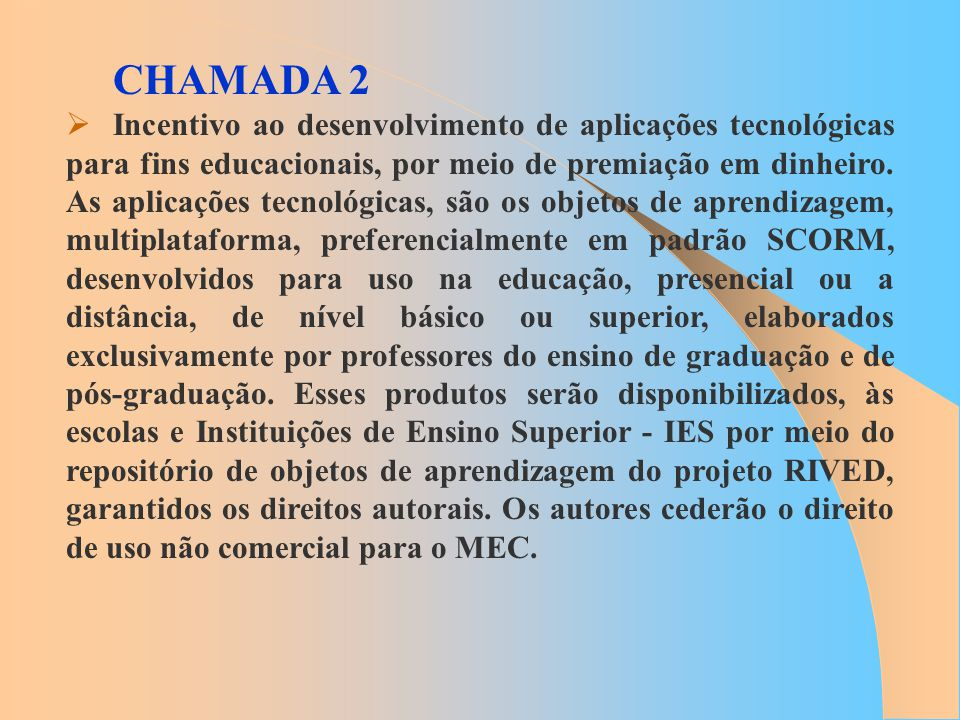 CHAMADA 2
