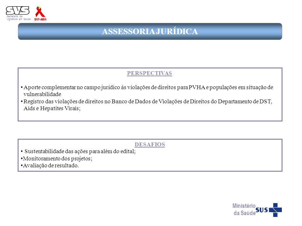 ASSESSORIA JURÍDICA PERSPECTIVAS