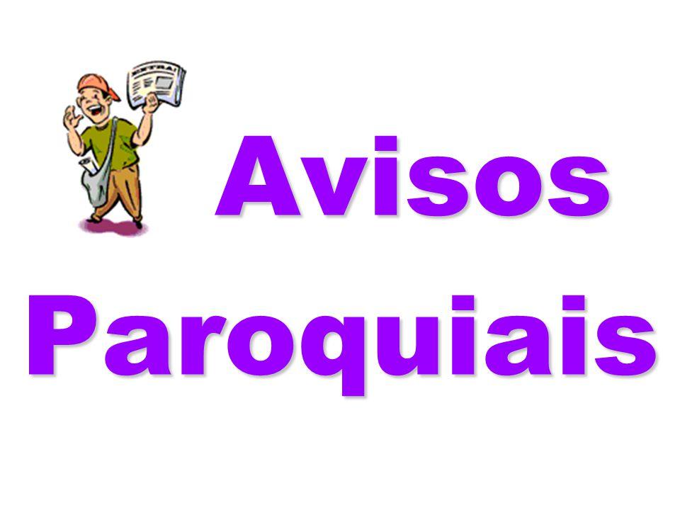 Avisos Paroquiais