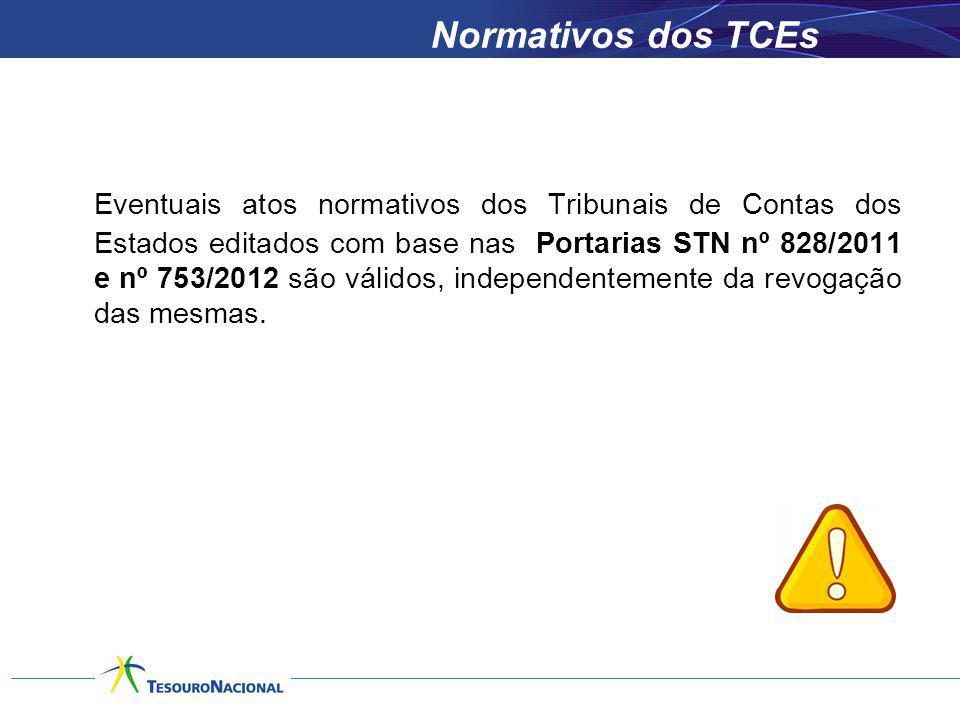 Normativos dos TCEs