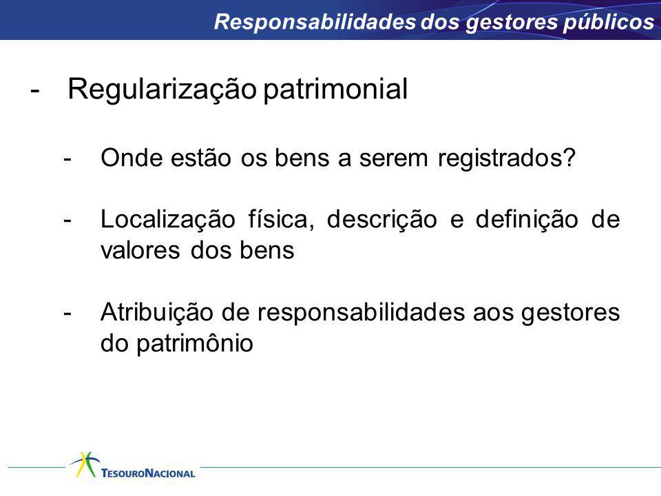 Regularização patrimonial