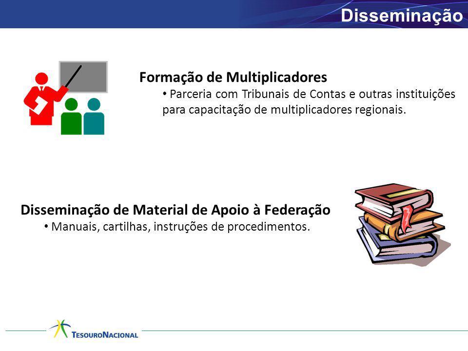 Disseminação Formação de Multiplicadores