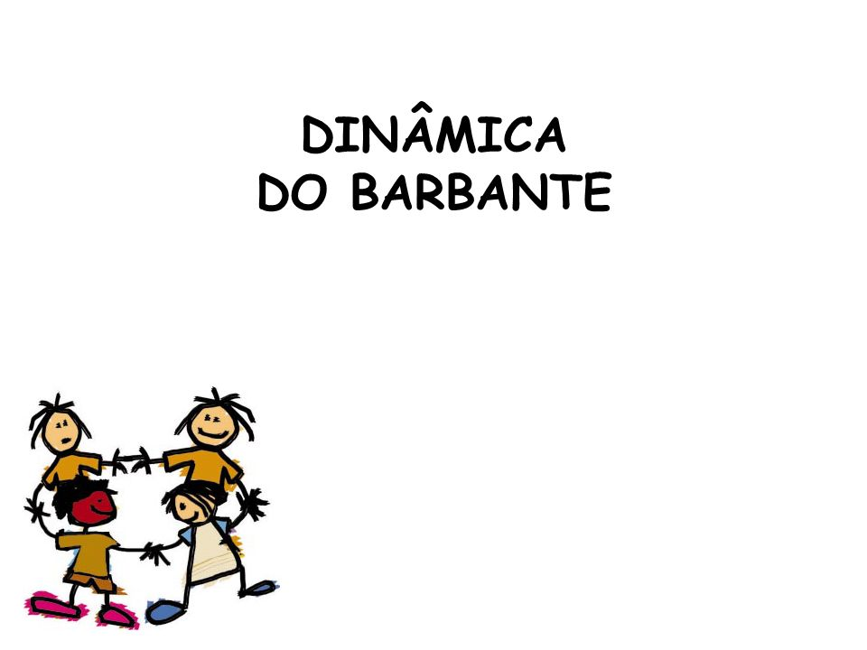 DINÂMICA DO BARBANTE