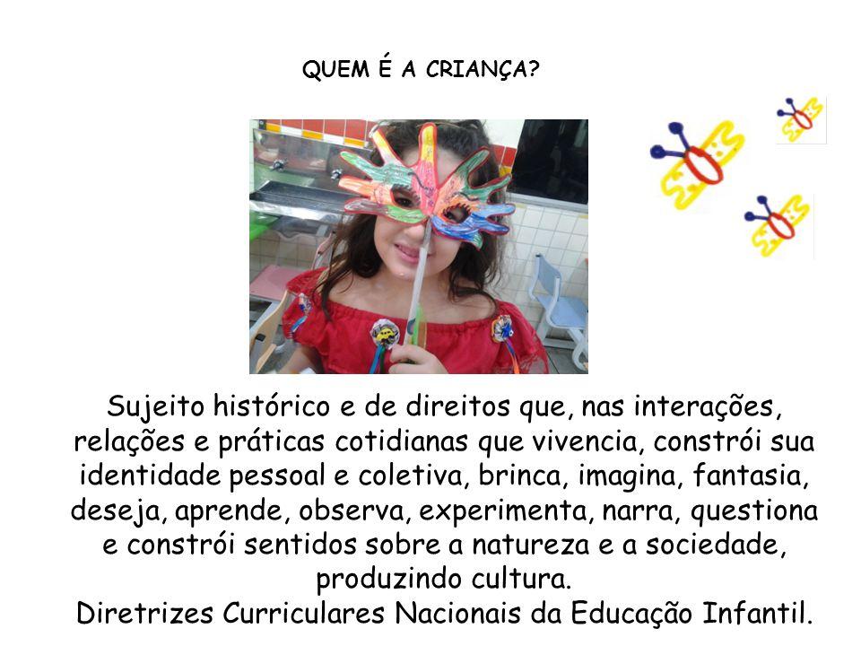 Diretrizes Curriculares Nacionais da Educação Infantil.