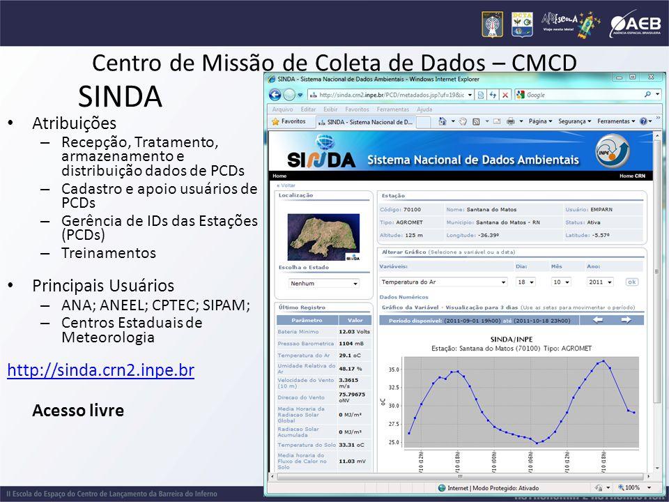 Centro de Missão de Coleta de Dados – CMCD