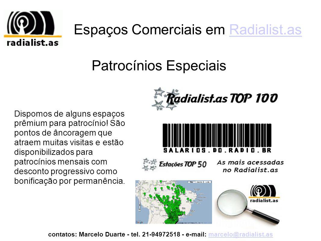 Espaços Comerciais em Radialist.as