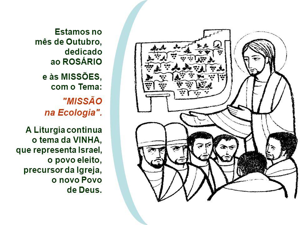 MISSÃO na Ecologia . Estamos no mês de Outubro, dedicado ao ROSÁRIO