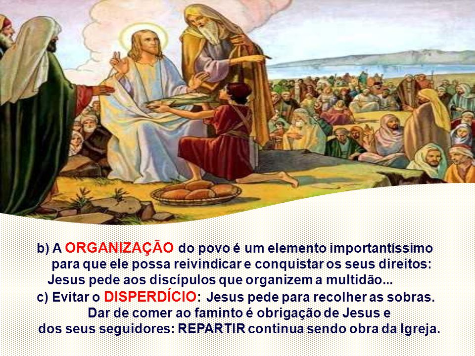 b) A ORGANIZAÇÃO do povo é um elemento importantíssimo