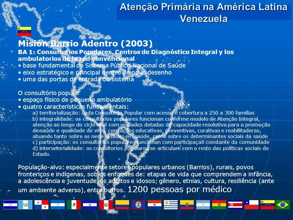 Atenção Primária na América Latina Venezuela