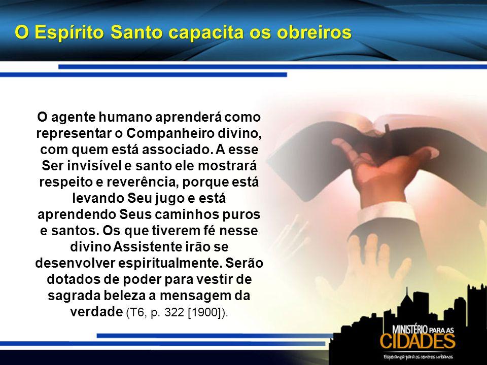 O Espírito Santo capacita os obreiros