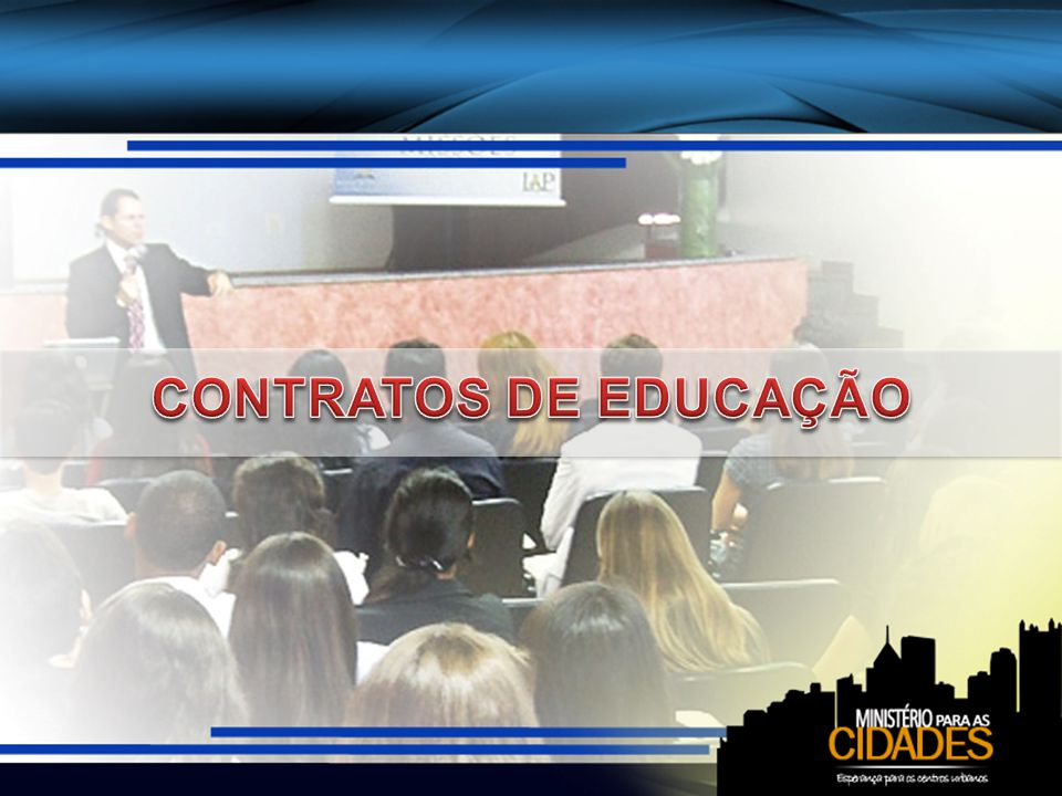 CONTRATOS DE EDUCAÇÃO