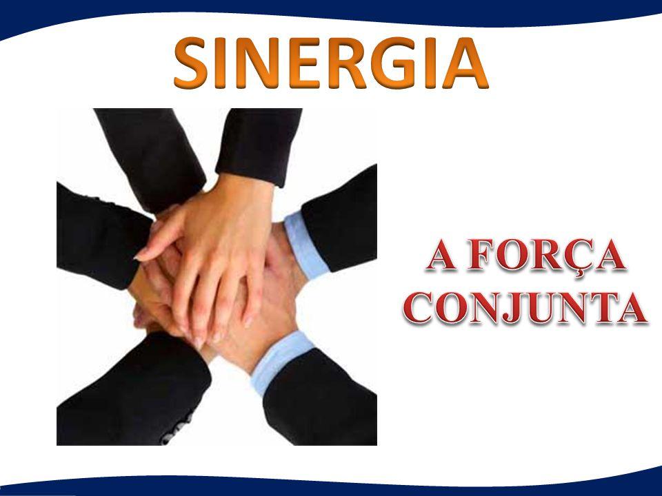 SINERGIA A FORÇA CONJUNTA