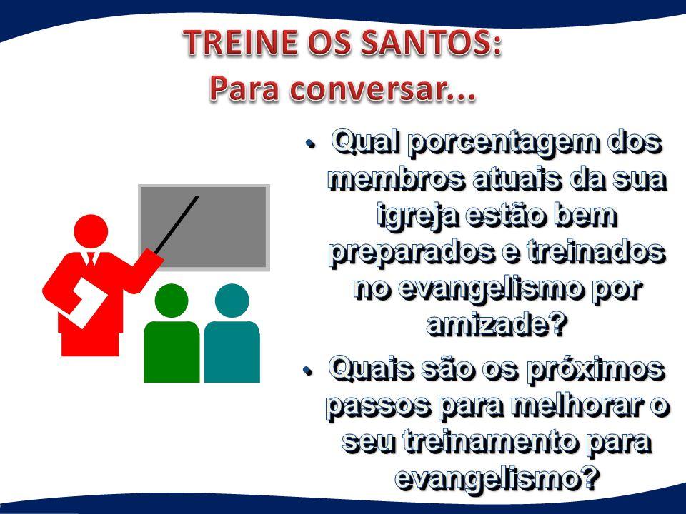TREINE OS SANTOS: Para conversar...