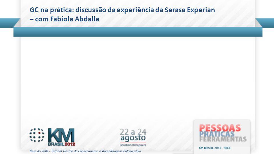 GC na prática: discussão da experiência da Serasa Experian – com Fabiola Abdalla