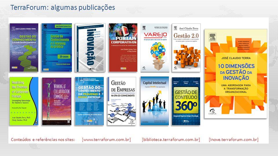 TerraForum: algumas publicações