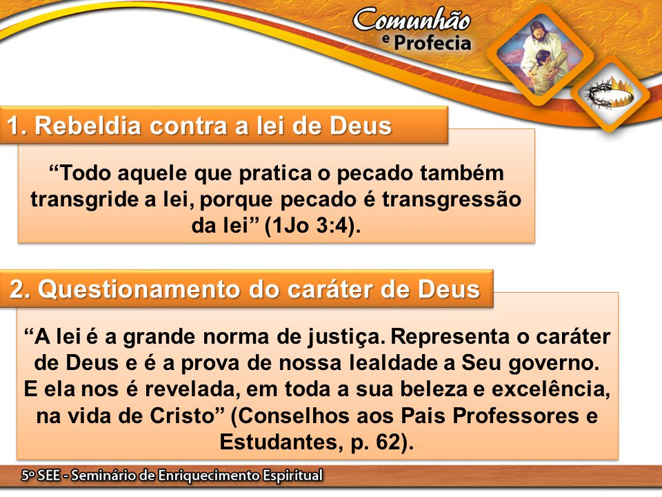 2. Questionamento do caráter de Deus