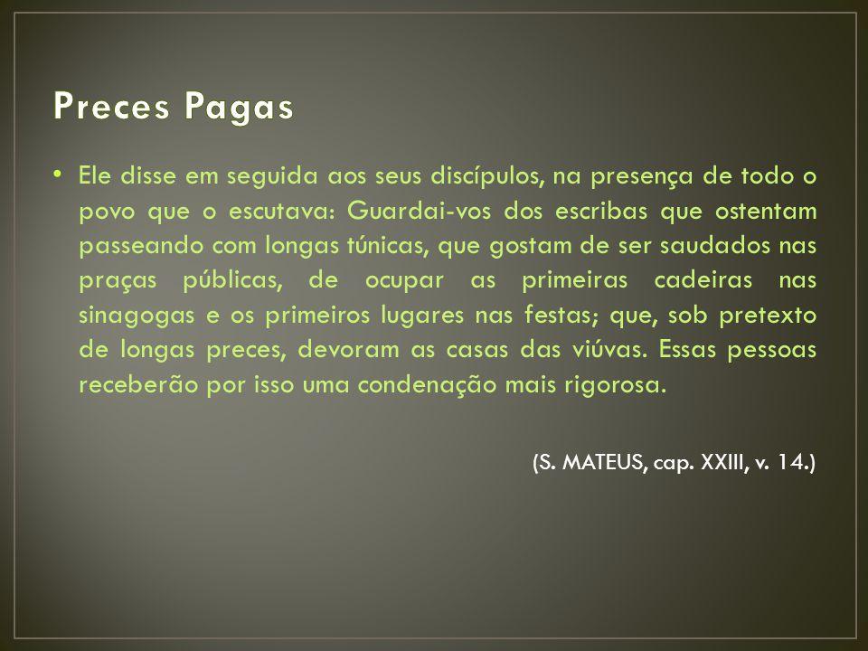 Preces Pagas