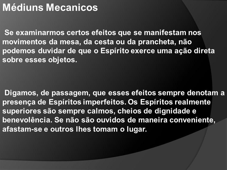 Médiuns Mecanicos