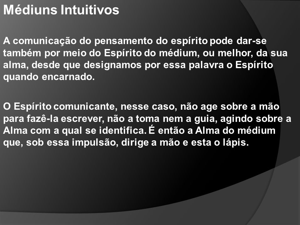 Médiuns Intuitivos