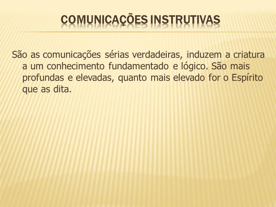 COMUNICAÇÕES INSTRUTIVAS