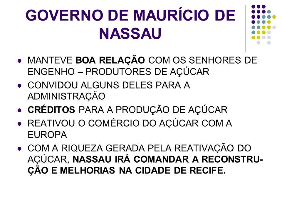 GOVERNO DE MAURÍCIO DE NASSAU