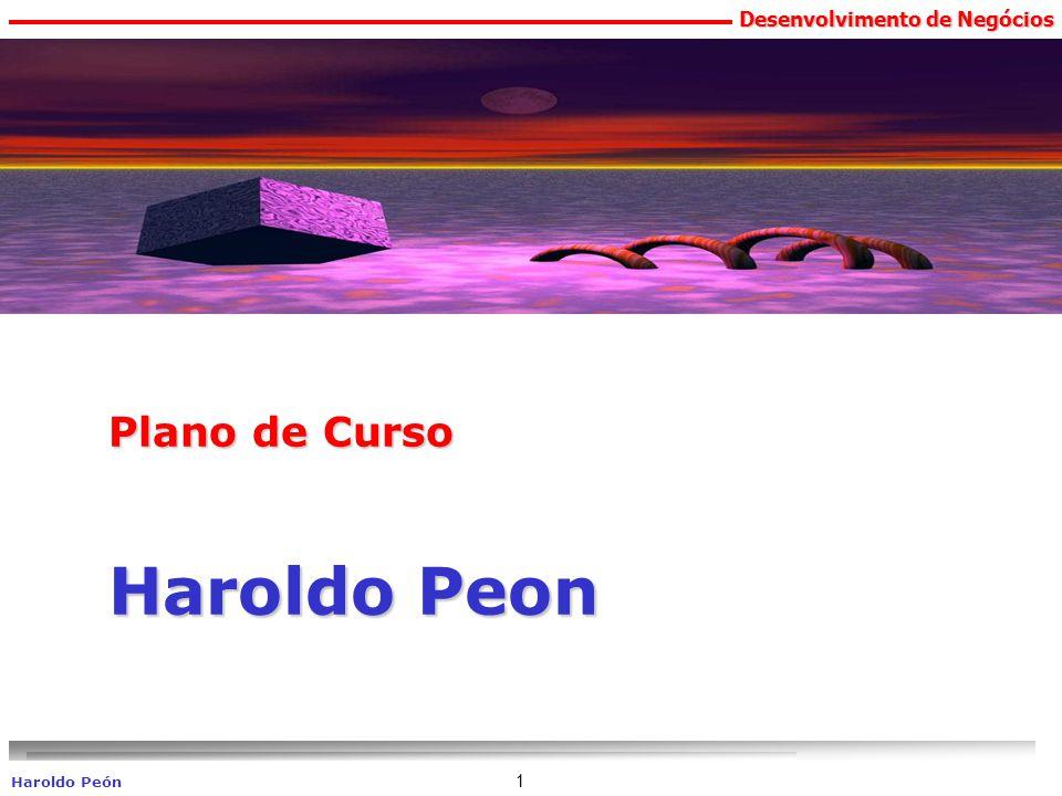 Plano de Curso Haroldo Peon