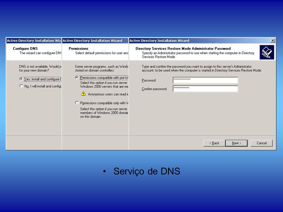 Serviço de DNS