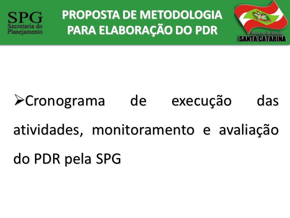 PROPOSTA DE METODOLOGIA