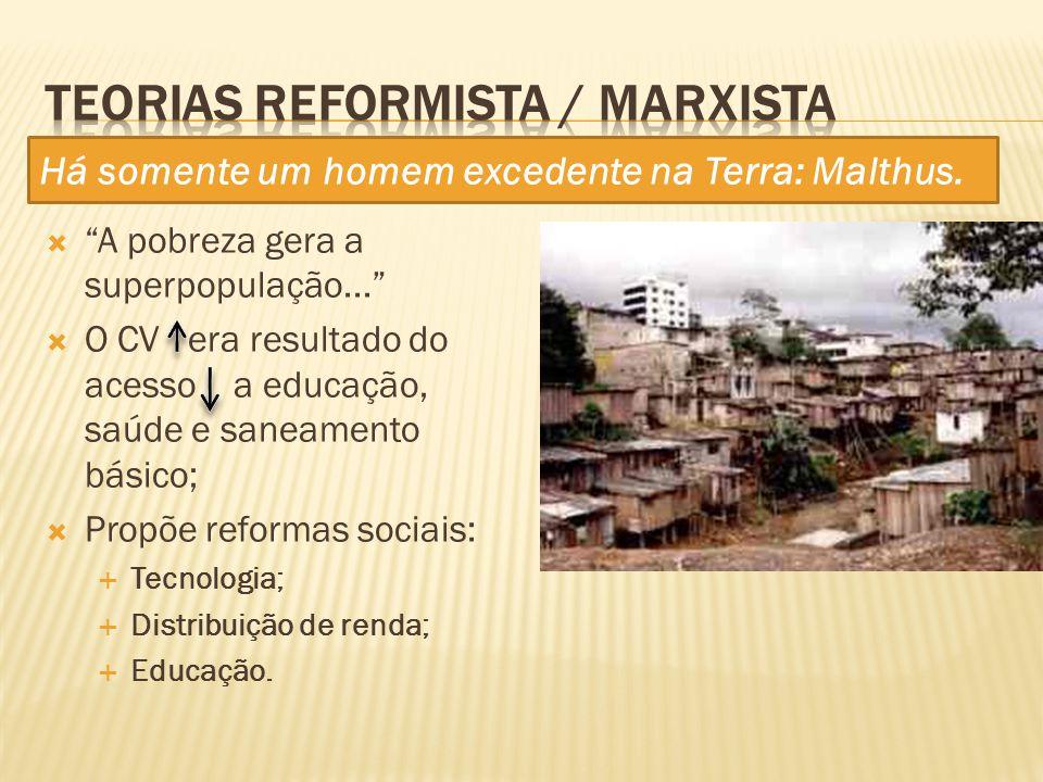 Teorias Reformista / Marxista