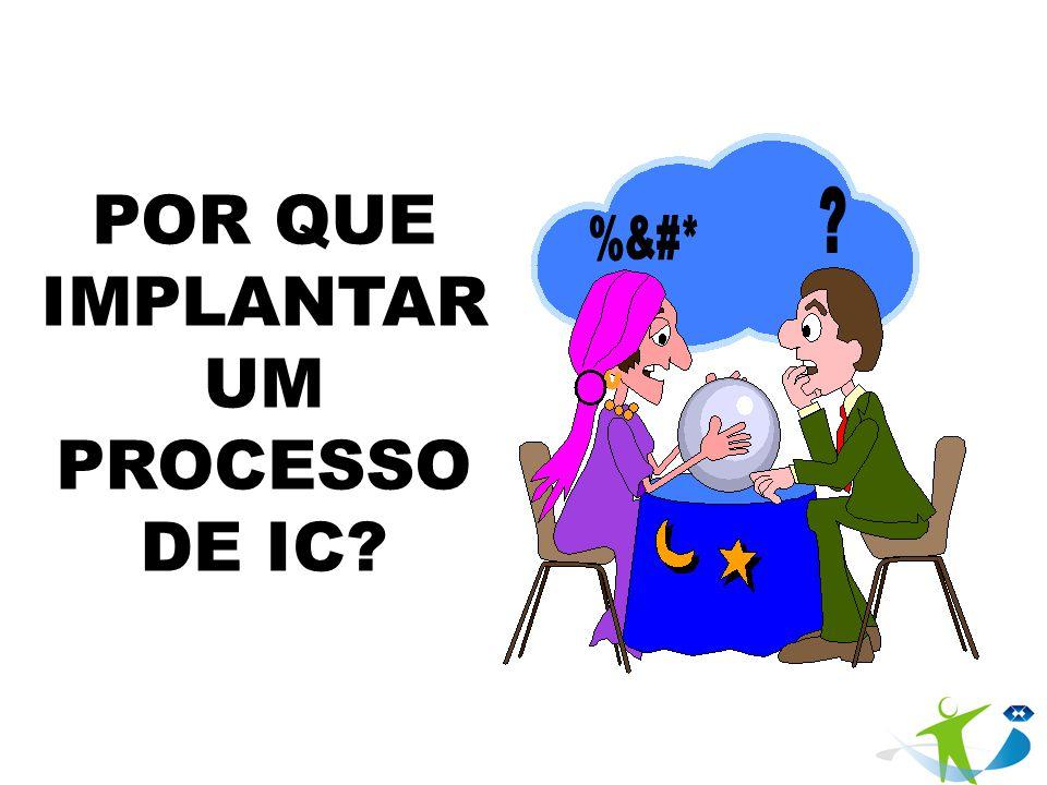 POR QUE IMPLANTARUM PROCESSO DE IC