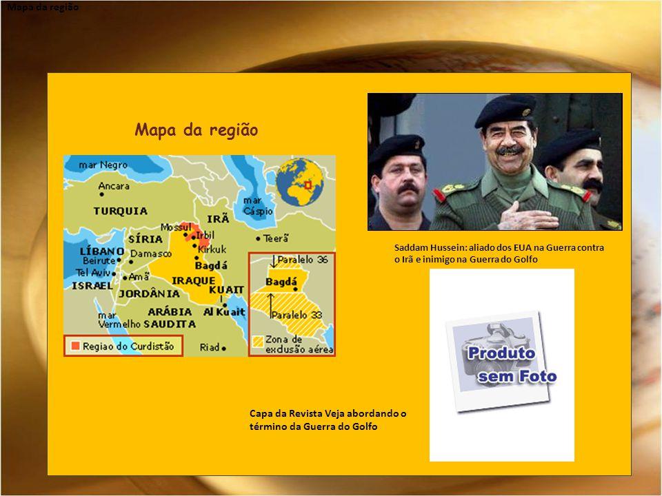 Mapa da região Mapa da região