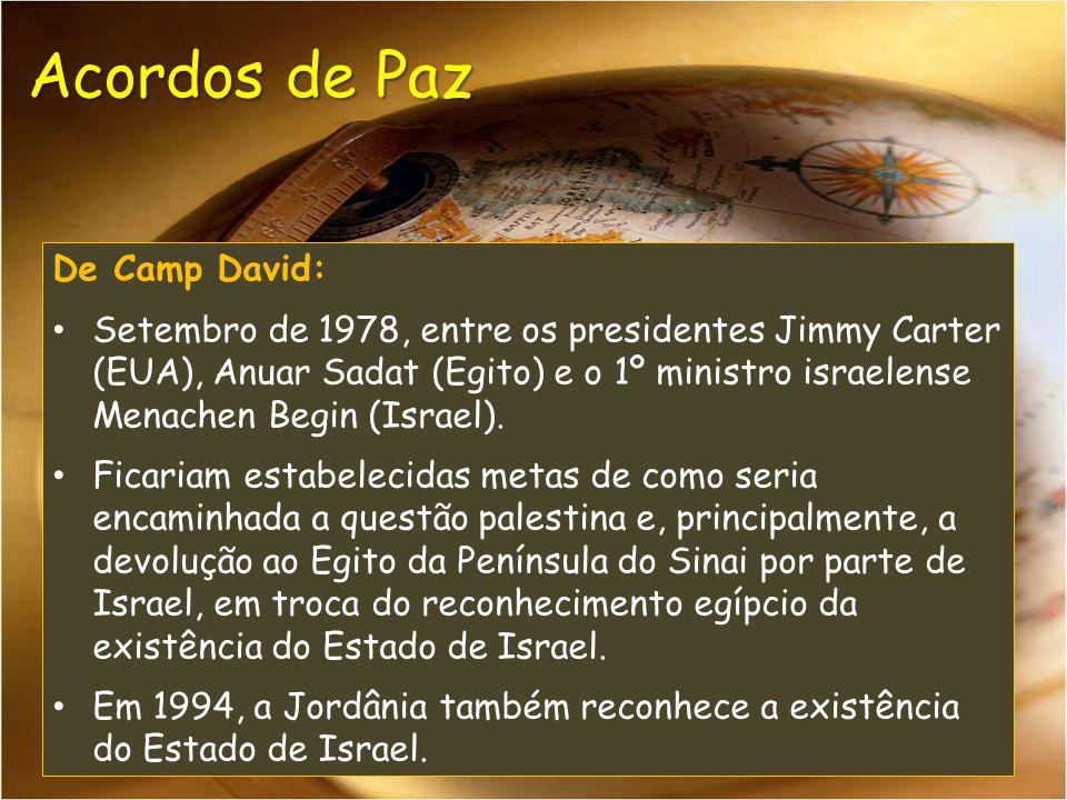 Acordos de Paz De Camp David: