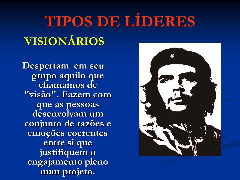 TIPOS DE LÍDERES VISIONÁRIOS.