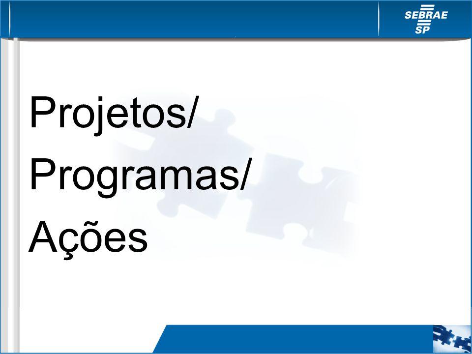 Projetos/ Programas/ Ações