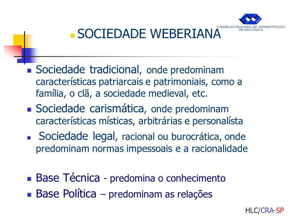 SOCIEDADE WEBERIANA