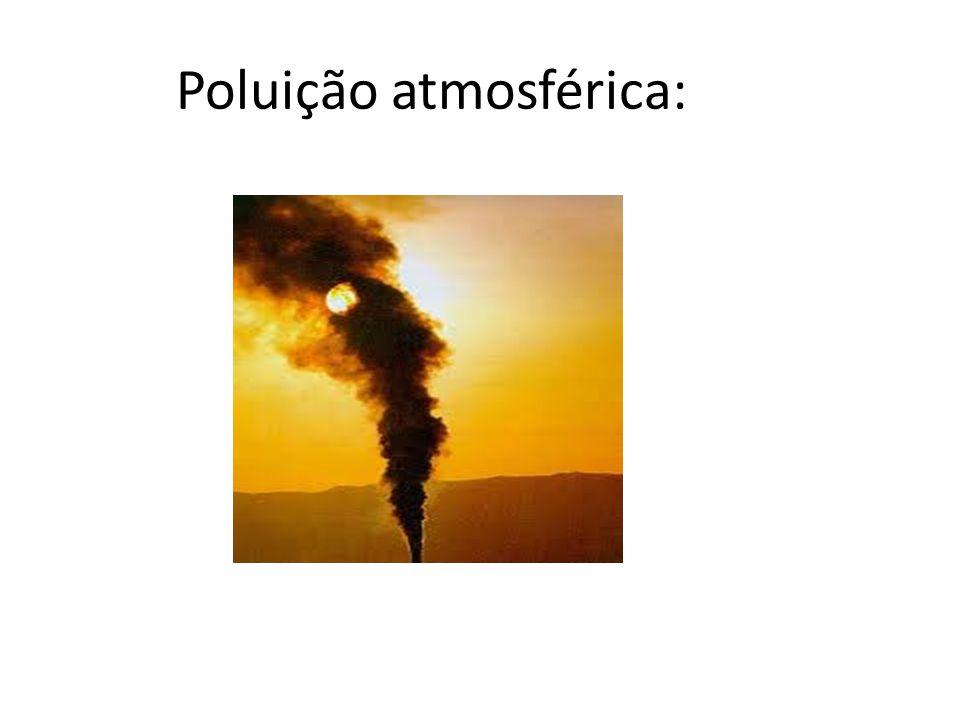 Poluição atmosférica: