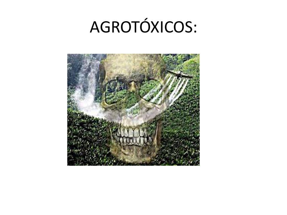 AGROTÓXICOS: