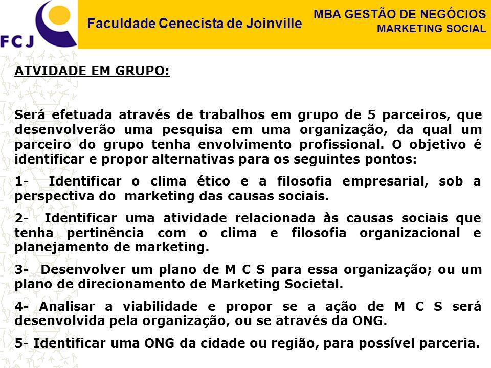 ATVIDADE EM GRUPO: