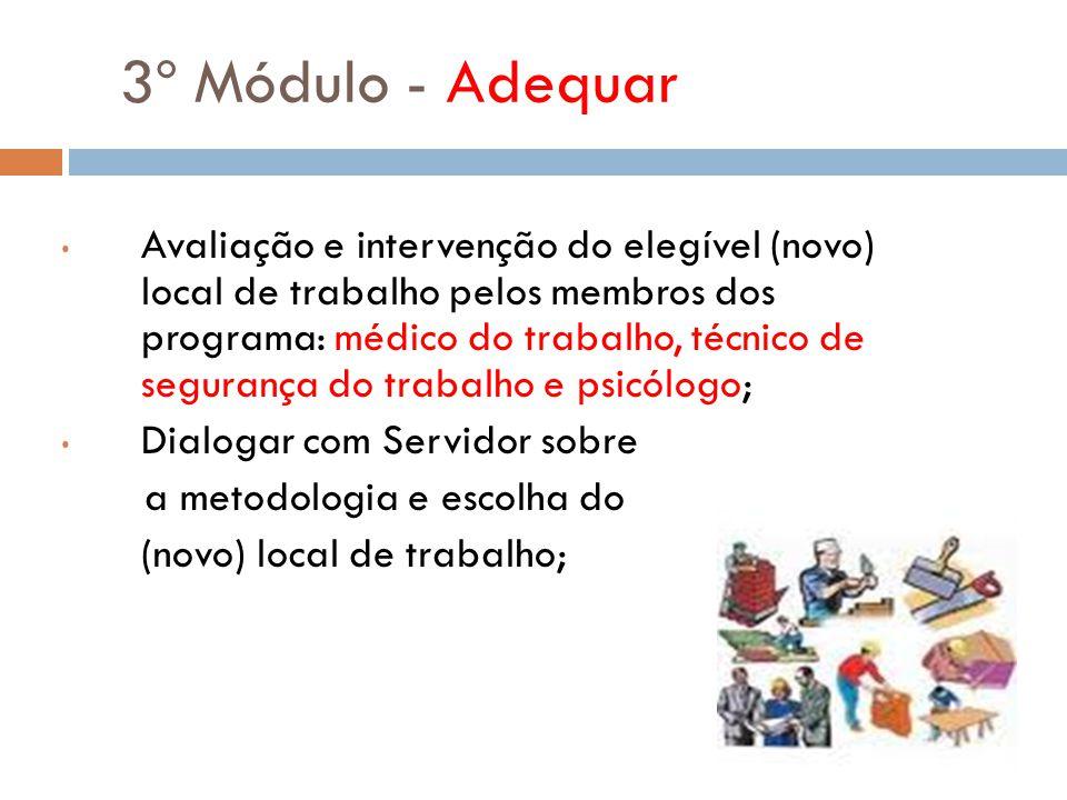 3º Módulo - Adequar