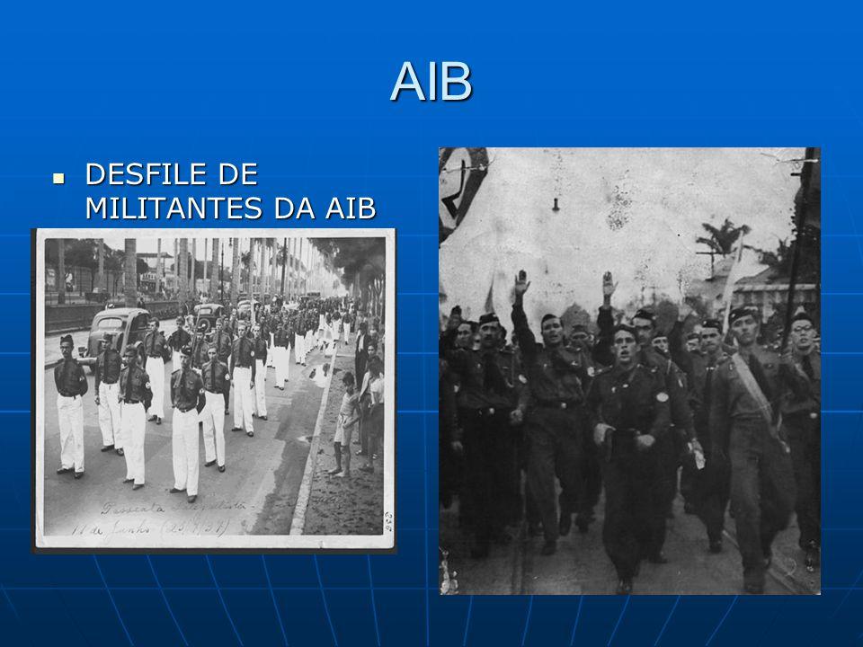 AIB DESFILE DE MILITANTES DA AIB
