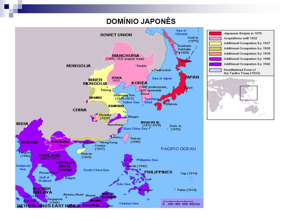 DOMÍNIO JAPONÊS