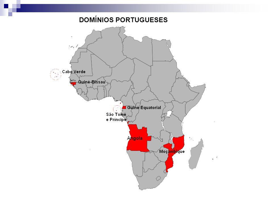 DOMÍNIOS PORTUGUESES