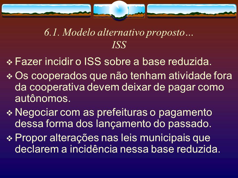 6.1. Modelo alternativo proposto… ISS