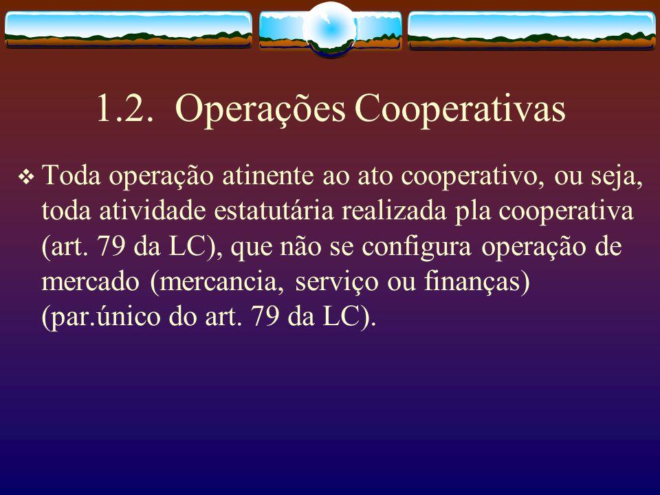 1.2. Operações Cooperativas