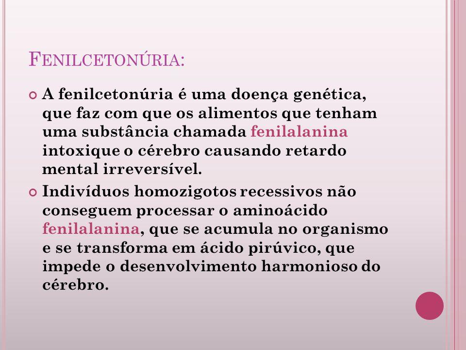 Fenilcetonúria: