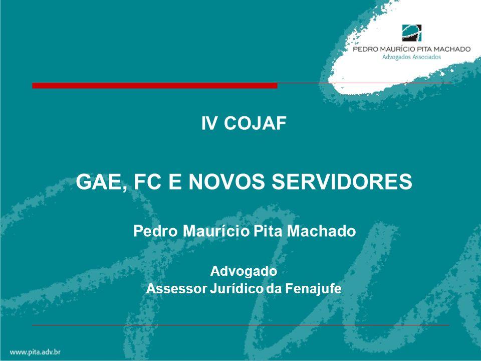 GAE, FC E NOVOS SERVIDORES